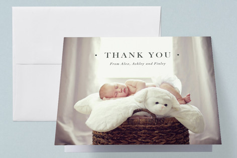 formal introduction Birth Announcements Thank You Cards