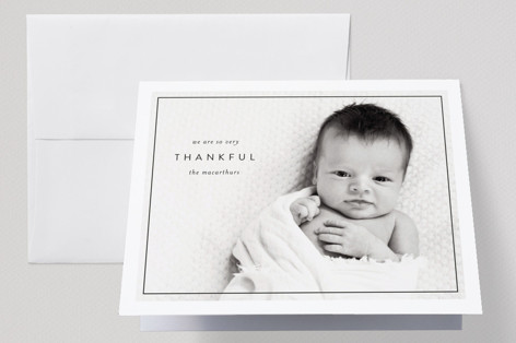 Sweet Little One Birth Announcements Thank You Cards