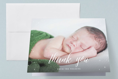 Magical Birth Announcements Thank You Cards
