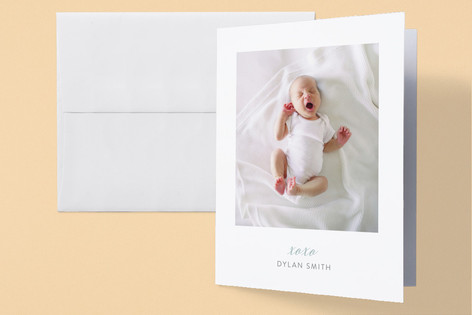 Sweet dreams, sweet pea Birth Announcements Thank You Cards