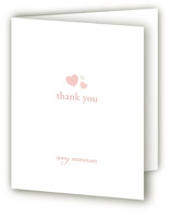 Sweet Hearts Birth Announcements Thank You Cards