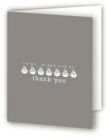 Little Boats Birth Announcements Thank You Cards