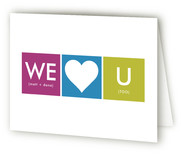 We Heart Baby Birth Announcements Thank You Cards