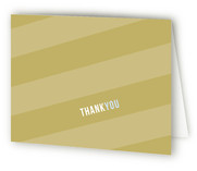 Angled Banner Birth Announcements Thank You Cards