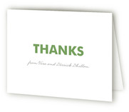 Nine Square Birth Announcements Thank You Cards