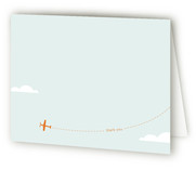little aviator Birth Announcements Thank You Cards