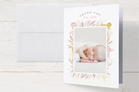 Safari Birth Announcements Thank You Cards