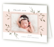Petite Birth Announcements Thank You Cards