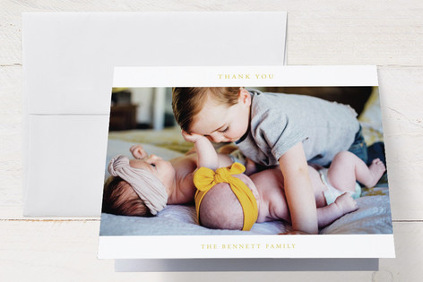 addition Birth Announcements Thank You Cards