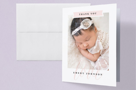 Baby Name Birth Announcements Thank You Cards