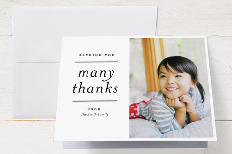 Hoped and Waited Birth Announcements Thank You Cards