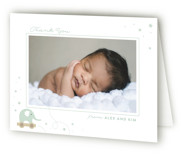 elephant toy Birth Announcements Thank You Cards
