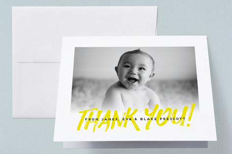 Rockabye Birth Announcements Thank You Cards