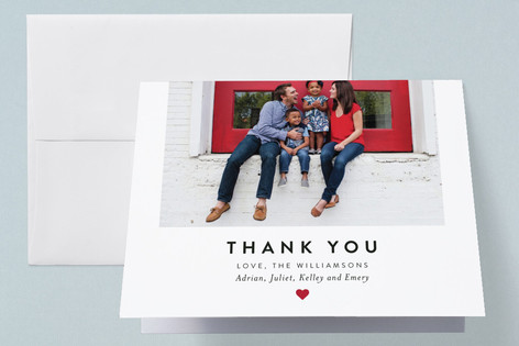 Heartfelt Welcome Birth Announcements Thank You Cards