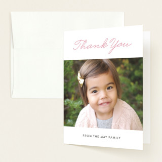 Overflow Birth Announcements Thank You Cards