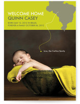 Welcome Home Adoption Birth Announcements