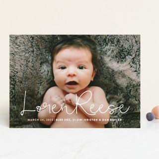 Signature Birth Announcements