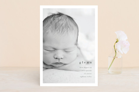banoffee Birth Announcements