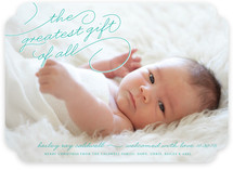 Greatest Gift Birth Announcements