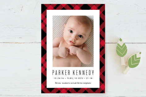 paul bunyan Birth Announcements