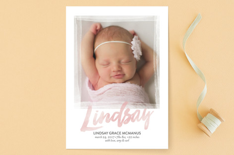 sobriquet Birth Announcements