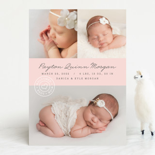 With Love Birth Announcements