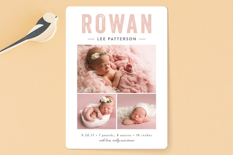 So Sweet Birth Announcements