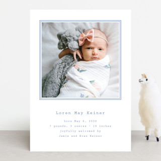Editor Birth Announcements