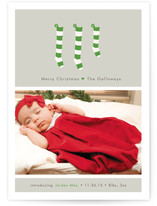 A New Stocking Birth Announcements