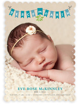 Peace on Earth Banner Birth Announcements