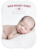 Peaceful Wishes Baby Birth Announcements