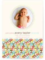 ABC Birth Announcements
