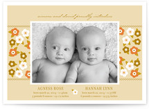 Flower Child Birth Announcements