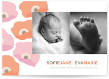 Pop Anemone Birth Announcements