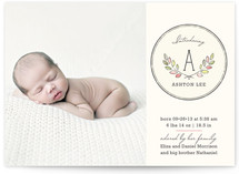 Baby Laurels Birth Announcements