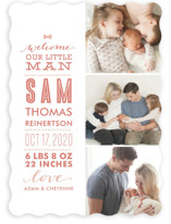 Little Man Birth Announcements