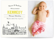 Vintage Storybook Birth Announcements