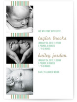 Bungalow Birth Announcements