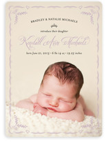 Frame So Sweet Birth Announcements