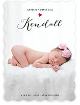 Little Heart Birth Announcements