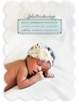 Classic Label Birth Announcements