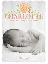 New Bloom Birth Announcements