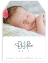 Mattson Monogram Birth Announcements