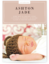 Fresh Start Birth Announcements