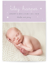 Riley Star Birth Announcements