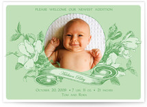 Bloom Birth Announcements