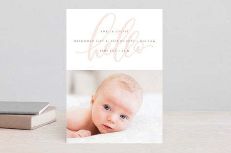 Watermark Birth Announcements