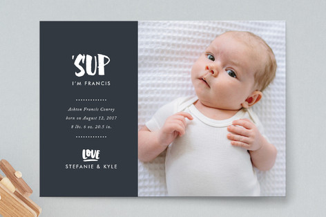 'Sup Birth Announcements