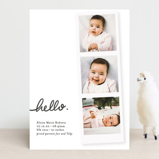 First Snapshots Birth Announcements