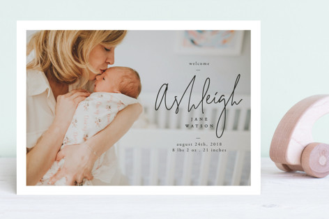 our delight Birth Announcements